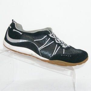 Privo by Clarks black leather walking sneakers 9W